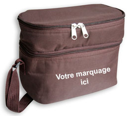 sac repas isotherme publicitaire